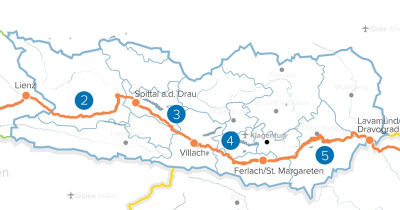 Drauradweg Kärnten