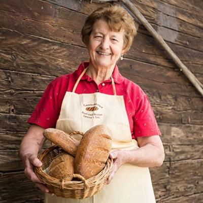 Lesachtaler Brot mit Lanner Rosa