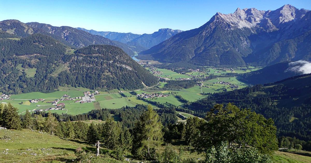 Pillersee von der Buchensteinwand