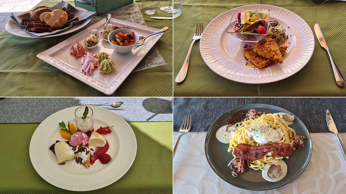 Culinarische Wanderung - Gerichte