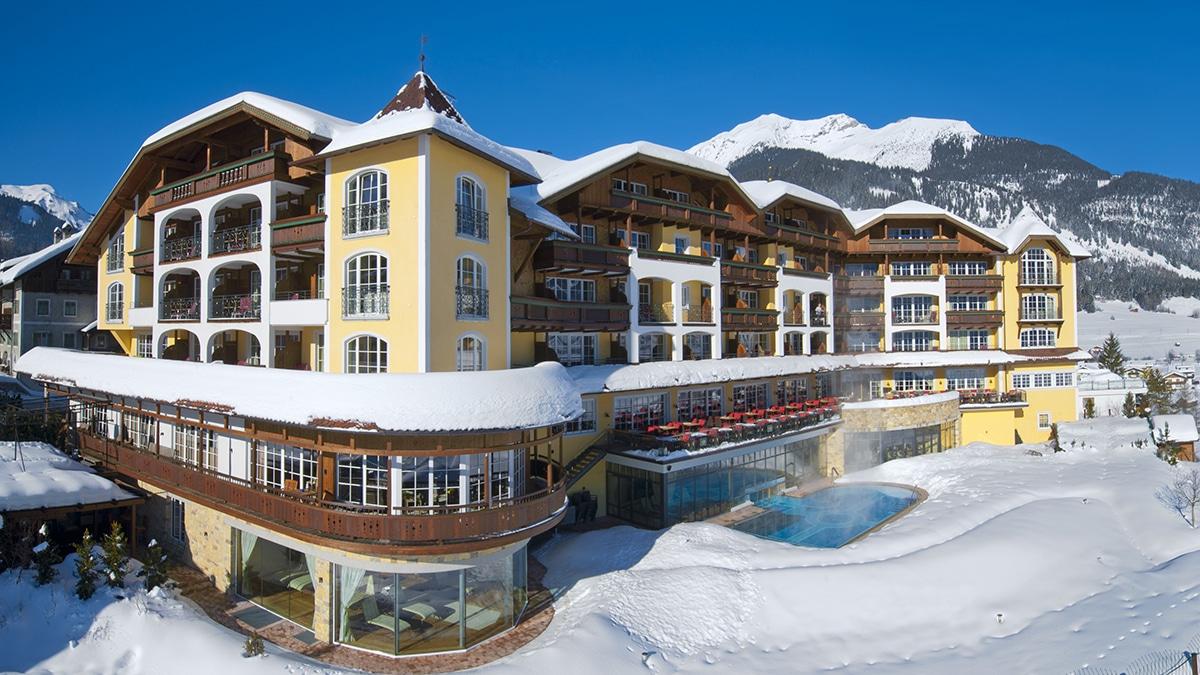 Hotel Post im Schnee