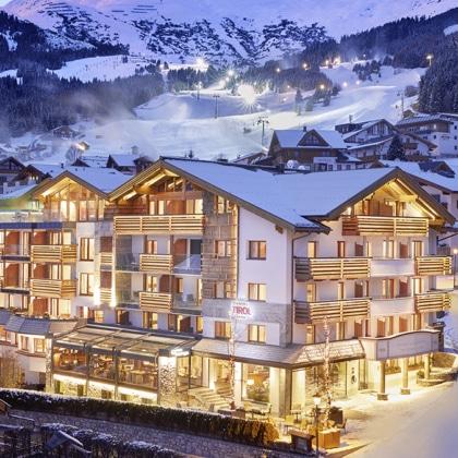 Hotel Tirol in Fiss